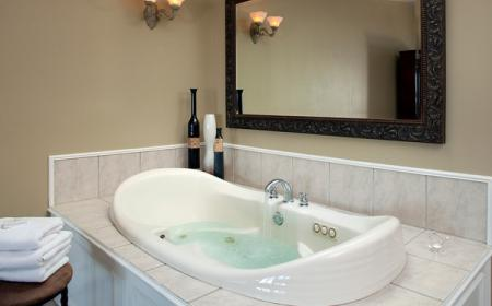 In-room jacuzzi